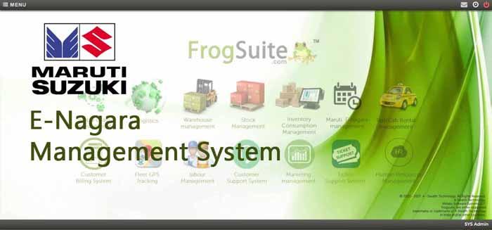 maruti E- Enagara software