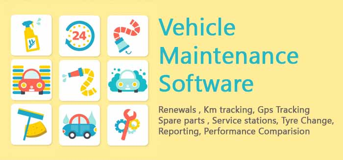 Vehicle Maintenance softare for logistics  gurgaon delhi ncr